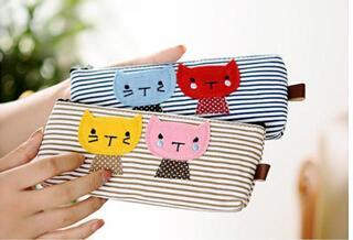 笔袋(韩版卡通猫咪)