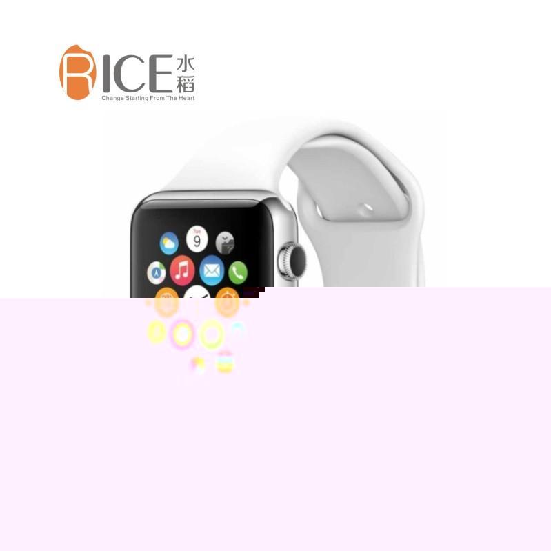 水稻品牌运动可定位/语音播报/插SIM卡/计步器/蓝牙安卓链接手机/可接受短信智能手表