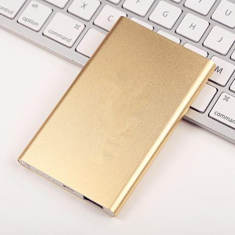 超薄金属移动电源 4000毫安  多种颜色选择 超高性价比