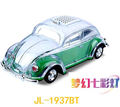 智能车模蓝牙音响 JL-1937BT 绿色 红色
