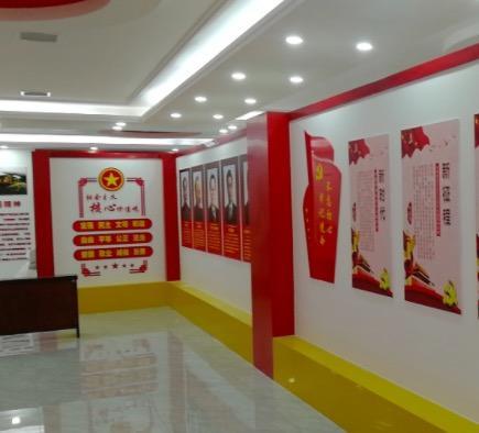 企业文化墙设计,党员文化学习设计,必威官方首页企业文化广告设计
